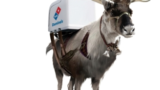 Dominos Is Developing A Fleet Of Pizza-Delivering Reindeer