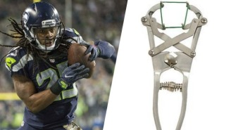 The Bills Kicker's Wife Threatened Richard Sherman With An Animal Castration Tool On Twitter