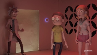 'Rick And Morty' Take On 'Ex Machina' And 'The Thing' In New Claymation Shorts