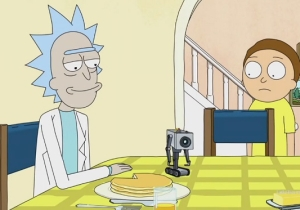 'Rick and Morty's Pass-The-Butter Robot Is Now Real And As Miserable As Ever