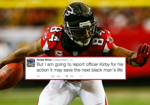 Roddy White Tweeted About An Intense Interaction With A Cop In Which He 'Could've Died'