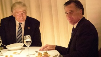 Mitt Romney's Courtship Dinner With Donald Trump Inspired A Frenzy Of Reactions