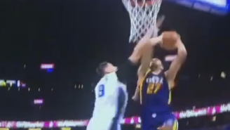 Rudy Gobert Put Nikola Vucevic On A Poster With This Monster Flush