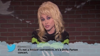 Watch Dolly Parton And Country Music's Best Read Mean Tweets After The CMAs On 'Jimmy Kimmel Live'