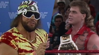 Randy Savage Wanted To Have A Two-Year Feud With Shawn Michaels Before He Left WWE