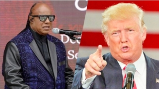 Stevie Wonder Rips Donald Trump And Makes It Clear That He's #WithHer
