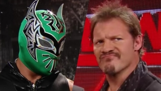 Chris Jericho And Sin Cara Reportedly Got Into A Fight On The WWE UK Tour