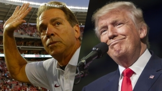 Nick Saban For President? OK Sure, Why Not!