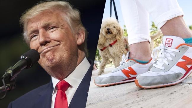 Automáticamente Arthur Conan Doyle Barrio bajo  Donald Trump Supporters Declare New Balance Official Shoes Of Whites