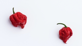 Watch This Lunatic Become The Carolina Reaper-Eating World Record Holder