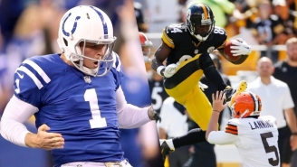 Colts Punter Pat McAfee Would Really Appreciate Antonio Brown Not Clowning Him On Thanksgiving