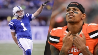 Punter Pat McAfee Continued His Reign Of Twitter Terror With This Savage Terrelle Pryor Burn