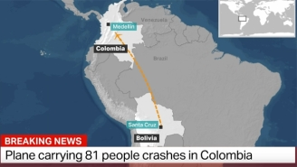 A Plane Carrying Over 80 People, Including Members Of A Brazilian Soccer Team, Has Crashed In Colombia