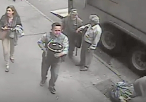 Watch An Implusive Thief Snag $1.6 Million In Gold Off An Armored Truck