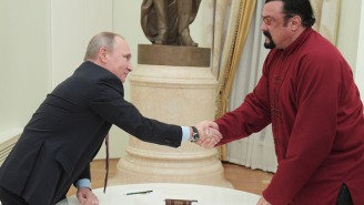 It's Official: Steven Seagal Now Has A Russian Passport As A Perk Of His Bromance With Putin