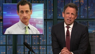 Seth Meyers Can't Handle Taking A Closer Look At Anthony Weiner's Connection To Hillary's Email