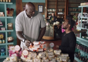 It's Perfectly Natural To See Shaq And Kendrick Lamar Shopping For Soap Together