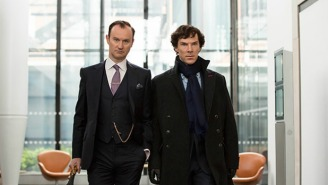 'Sherlock' Co-Creator Mark Gatiss Responded To A Critic's Negative Review With… A Poem?