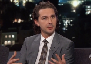 Shia LaBeouf Attempts To Explain His Performance Art To Jimmy Kimmel