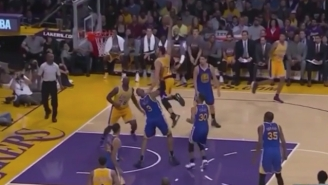 Larry Nance Jr. Used David West As A Springboard On This Ferocious Dunk