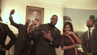 The Cavs Teamed Up With Michelle Obama For An Incredible Mannequin Challenge Video