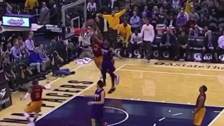 Glenn Robinson III Introduced Marquese Chriss To The NBA With A Monster Alley-Oop Dunk