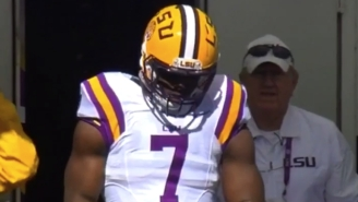 An Injured Leonard Fournette Demanded To Play Against Florida After A Pregame Scuffle