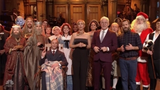 Kristen Wiig And A Few Special Guests Sing The Secret History Of Thanksgiving On 'SNL'