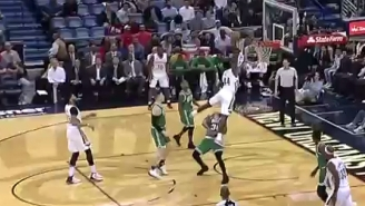 Marcus Smart Got Smashed Like A Bug On This Vicious Dunk By Solomon Hill