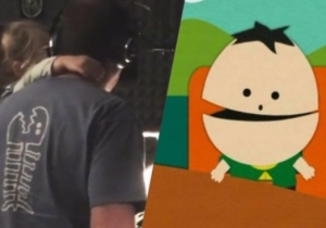 Trey Parker Demonstrates How He Gets His Daughter Betty To Record Ike's Lines On 'South Park'