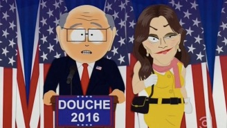 Here's How 'South Park' Reacted To 'Giant Douche' Donald Trump Becoming President