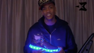 Stephon Marbury's New Kicks Feature Lights That Flash To Music Using A Phone App