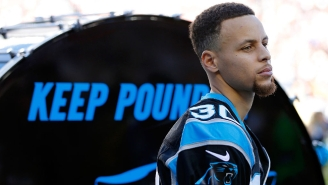 Charlotte Native Steph Curry Had To Suffer The Embarrassment Of Wearing A Raiders Jersey
