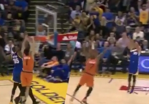 This Sequence From Kevin Durant And Steph Curry Is Why The Warriors Are Unfair