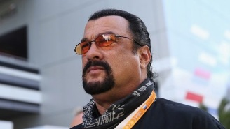 Steven Seagal Makes His Bromance With Vladimir Putin Official, Becomes Russian Citizen