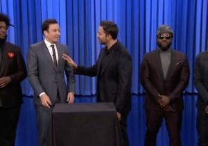 David Blaine's Magic Gave Jimmy Fallon The Giggles On 'Tonight'