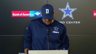 Tony Romo Read An Emotional Statement On Losing His Cowboys QB Job To Dak Prescott