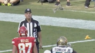 A Chiefs Player Created A New Way To Get Ejected By Throwing His Towel At A Ref
