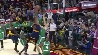 Tristan Thompson Viciously Dunked All Over Tyler Zeller