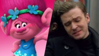 Justin Timberlake Cried At His Own Song In 'Trolls' Because He's A Big Sap Like The Rest Of Us