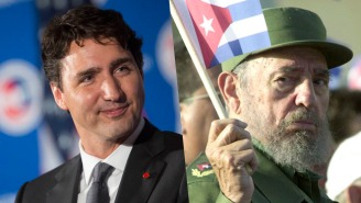 Justin Trudeau's Statement On The Passing Of Fidel Castro Prompts A Wave Of Negativity From Critics