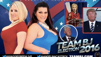 These Adult Film Stars Are Offering BJs To Anyone Who Will Vote Against Donald Trump