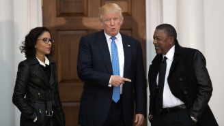 BET Founder Bob Johnson Advises African-Americans To Give Trump A Shot After A 'Great Chat'