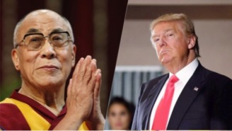 The Dalai Lama Isn't Worried About Trump, Looks Forward To Meeting The President-Elect Soon