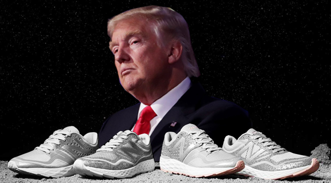 Comida sana Colapso dormir  New Balance Is Very Excited About President Donald Trump