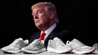 New Balance Is Very Excited About President Donald Trump