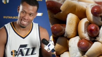 The Utah Jazz Weigh In On The Fiery Debate Over Whether A Hot Dog Is A Sandwich