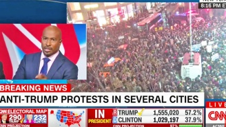 Van Jones Finally Loses Patience With A CNN Commentator Who Can't Comprehend The Anti-Trump Protests