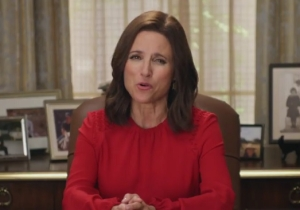 Failed Fake President Selina Meyer From 'Veep' Is Now Urging Young People To Vote