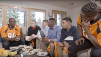 DeMarcus Ware Surprised A Bunch Of Soldiers With A Homecooked Holiday Meal